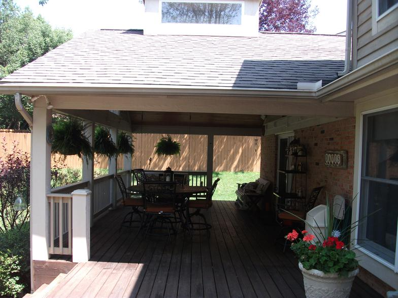 Custom Covered Decks And Patios