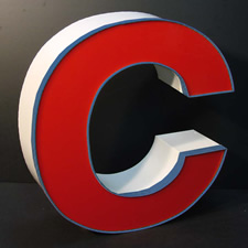 lighted letter signs. SignWire.com Channel Letters Lighted Letter Signs