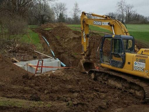 Commercial Excavation in Dayton Cincinnati Columbus Ohio Kentucky Indiana