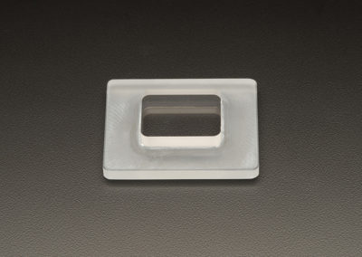 Machined Fused Quartz Plates