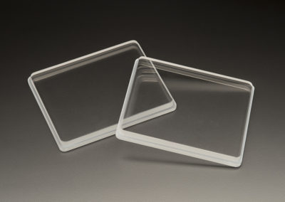 Machined Fused Silica Windows