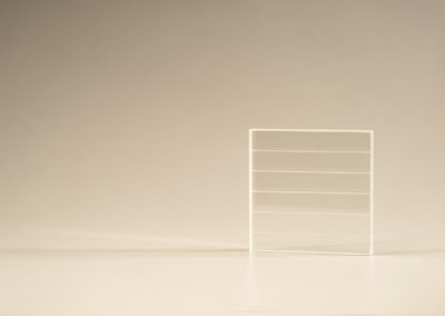 Machined Fused Silica Plates