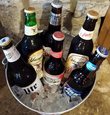 beer-bottles-gameday-grille-patio-waynesville