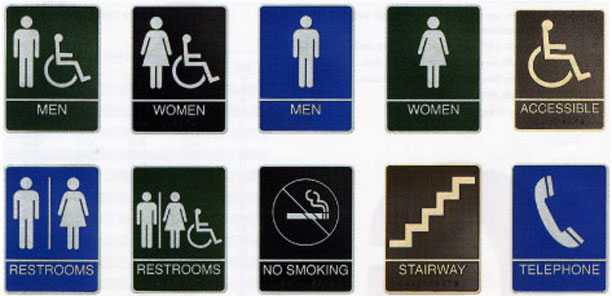 ADA/Braille Signs
