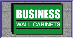Outdoor Lighted 4'x6' Wall Sign