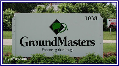 Ground Masters MDO Sign