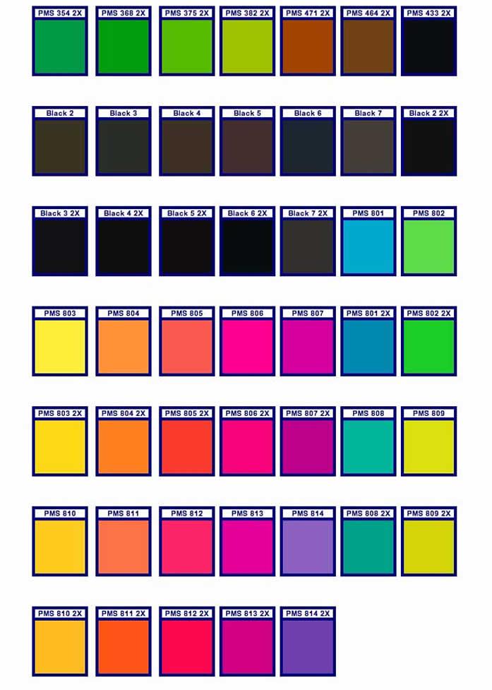 PMS-Color-Chart