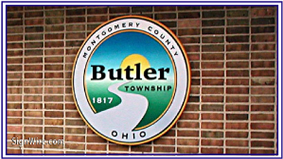 Montgomery County Butler Township Sandblasted Sign
