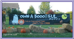 Own a Bootiful Puppy Custom Banner