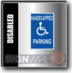 T & P Handicap Signs