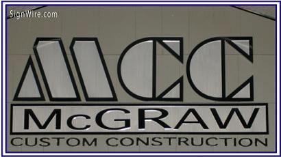 MCC McGraw Custom Construction Custom Logo