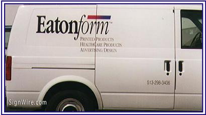 Eatonform Vehicle Lettering
