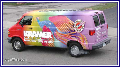 Kramer Graphics Vehicle Lettering