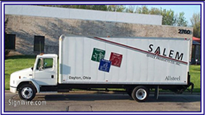 Salem Office Supply Vehicle Lettering
