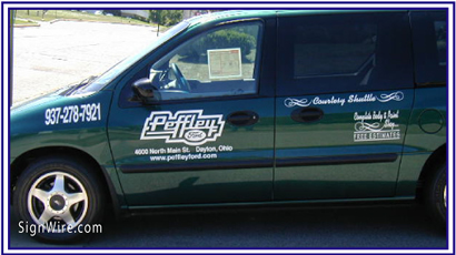 Peffley Ford Vehicle Lettering