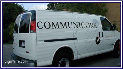 Communicore Vehicle Lettering