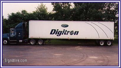 Digitron Vehicle Lettering