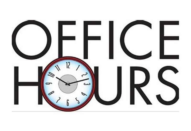 June Office Hours - Living Water Lutheran Church